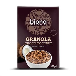 Organic Choco Coconut Granola Breakfast Cereal 375g by Biona