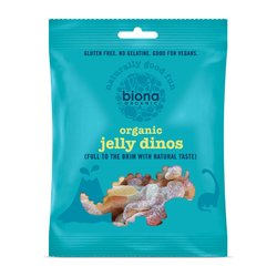 10 x Organic Jelly Dinos Sweets 75g by Biona (Vegan)
