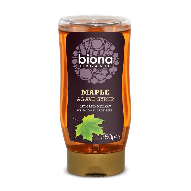 Organic Maple Agave Syrup Natural Sweetener 350g by Biona
