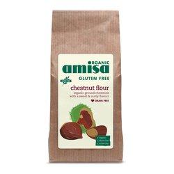 Organic Chestnut Flour 350g by Amisa (Gluten Free)