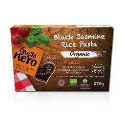 2 x Black Jasmine Rice Fusilli Pasta 275g (Organic, Gluten-Free)