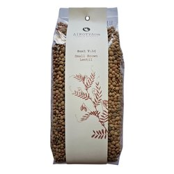 Small Brown Greek Lentils 'Fakes' 500g
