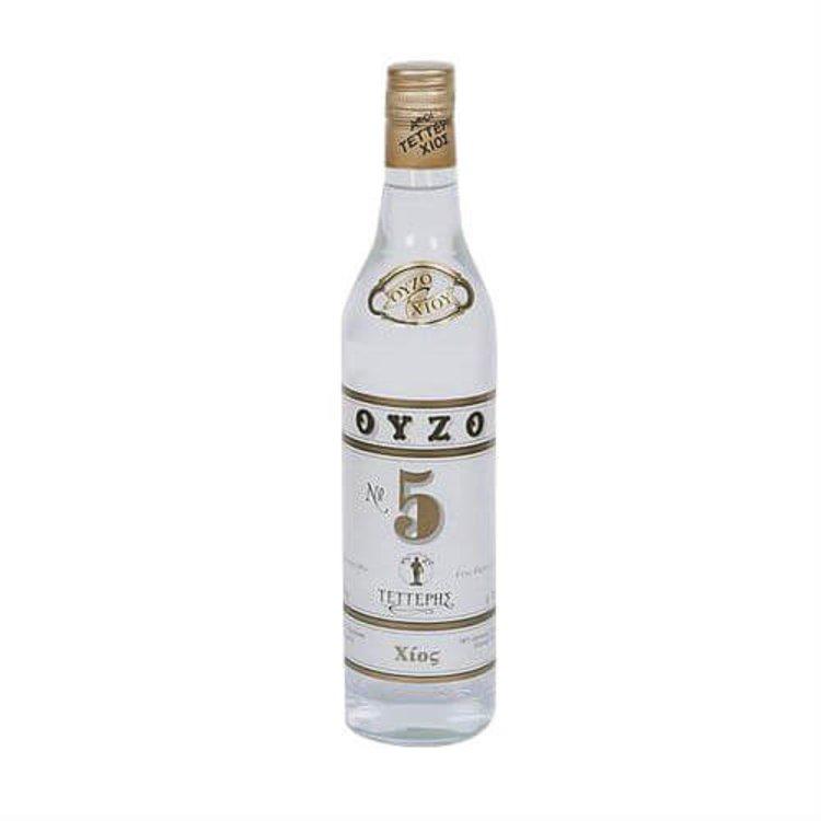 Ouzo 'No. 5' Anise Flavoured Spirit 700ml 46% Vol.