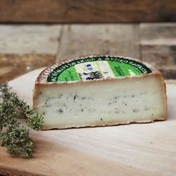 Homemade Smoked Cretan Graviera Cheese with Thyme 350g