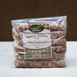 6 Organic Smoked Cretan Sausage with Vinegar 400g