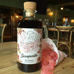 Sarsaparilla Gin Liqueur with Liquorice & Vanilla 50cl 21% Vol.