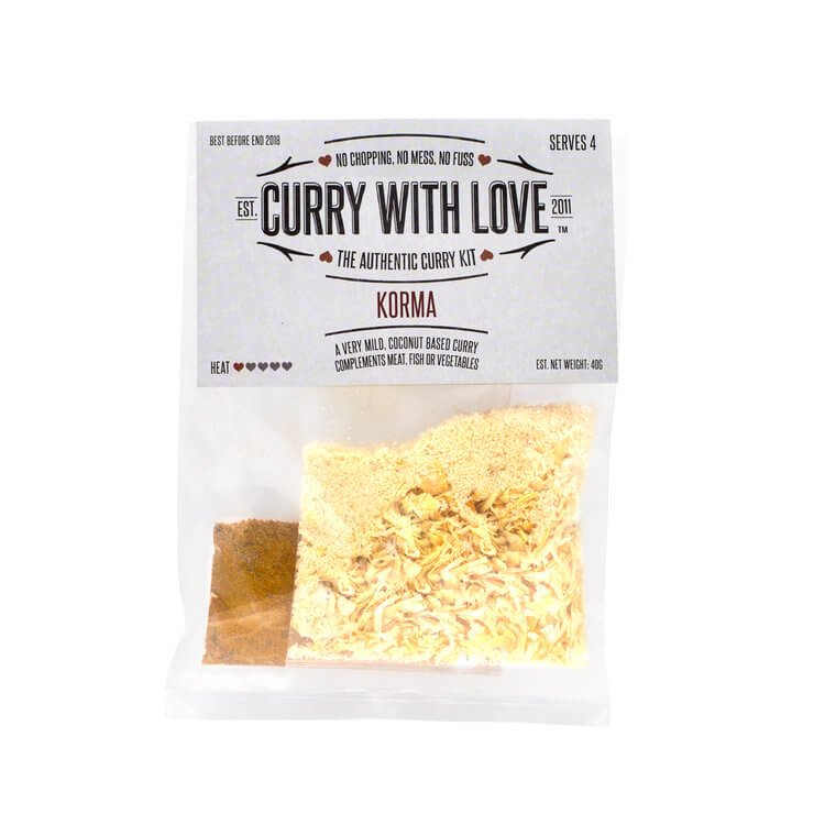 Mild Korma Curry Spices Kit 40g