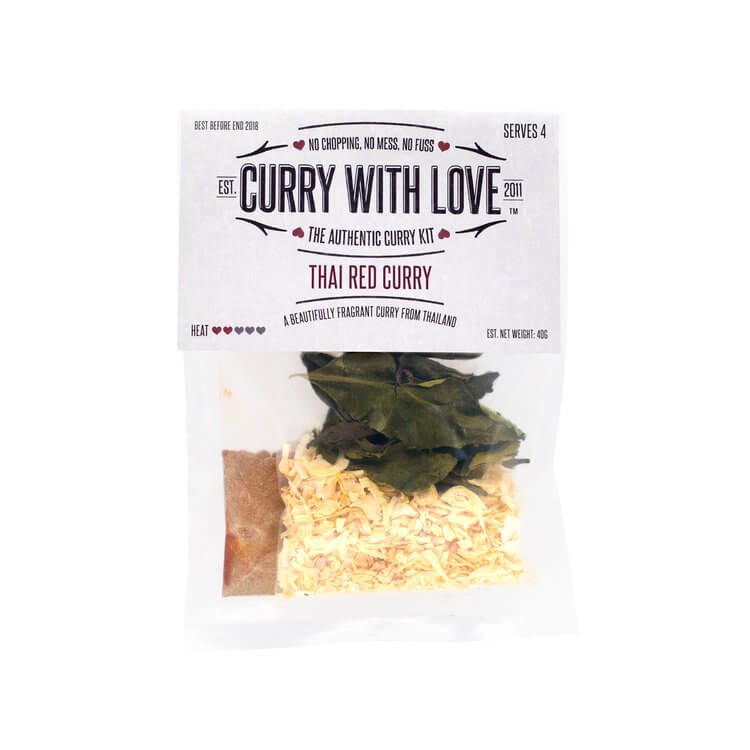 Mild Thai Red Curry Spices Kit 40g