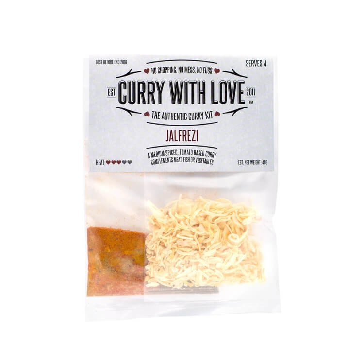 Medium Jalfrezi Curry Spices Kit 40g