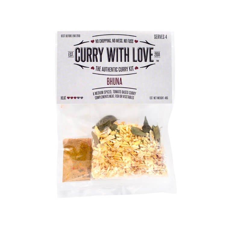 Medium Bhuna Curry Spices Kit 40g