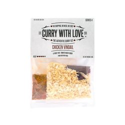 Fairly Hot Chicken Vindail Curry Spices Kit with Star Anise & Cloves 40g