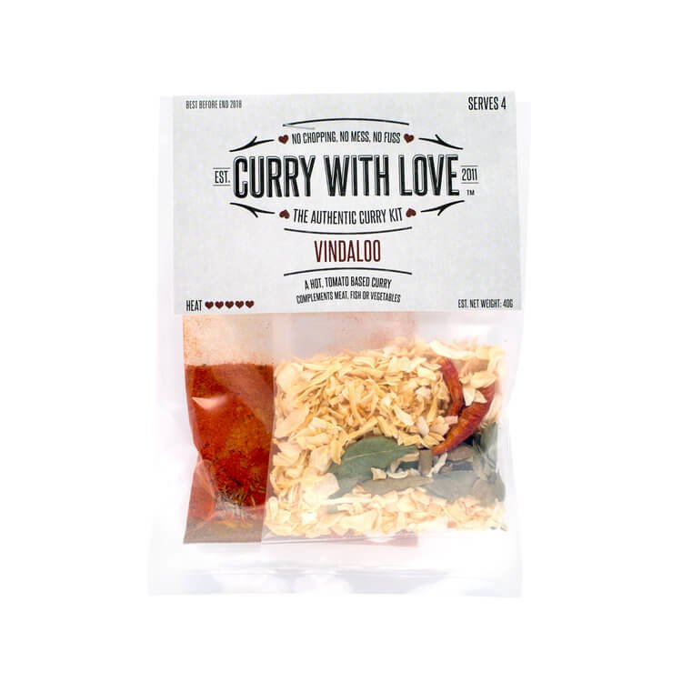 Hot Vindaloo Curry Spices Kit 40g