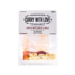 Hot Lentils with Garlic & Chilli Curry Spices Kit 15g