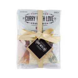 'Gift for a Foodie' 6 Curry Kits Gift Set Inc. Goan Curry, Dhansak & Batli Spice Blends
