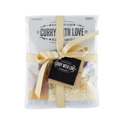 'Dinner Party Range' Curry Kits Gift Set with 7 Curry Kits & Side Dishes Spice Blends