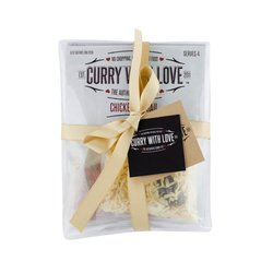 'Curry Night In for 2' Gift Set for 2 with Chicken Vindail, Pilau Rice & Spicy Potatoes Spice Blends