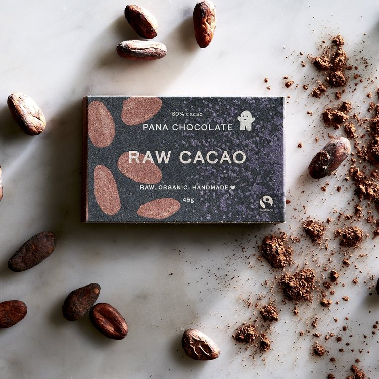 Organic Original Raw 60% Handmade Chocolate Bar 45g