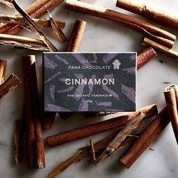 Organic Raw Cinnamon Handmade Chocolate Bar 45g
