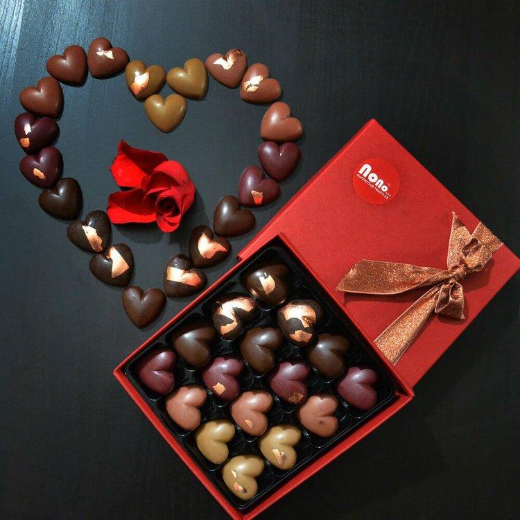 'Long Time Love' Raw Superfood Chocolate Truffles Gift Box