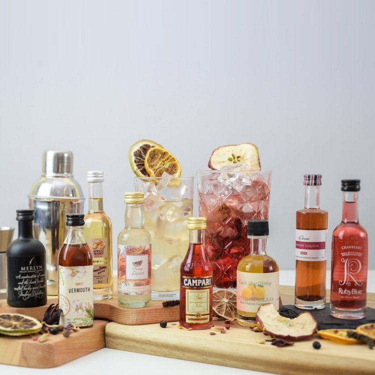 Premium Craft Vodka & Liqueurs Tasting Gift Set Inc. Toffee Vodka & Fruit Liquers