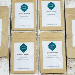 6 Cupboard Essentials Spice Blends Set Inc. Turmeric, Cumin, Chilli & Ginger