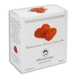 Tomato & Oregano Handmade Traditional Cretan Biscuits 300g