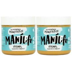2 x ManiLife Crunchy Peanut Butter 295g (Argentinian Hi-oleic)