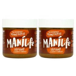 2 x ManiLife Deep Roast Peanut Butter 295g (Argentinian Hi-oleic)