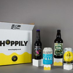 Vegan Craft British Beer Gift Box with 8 Beers