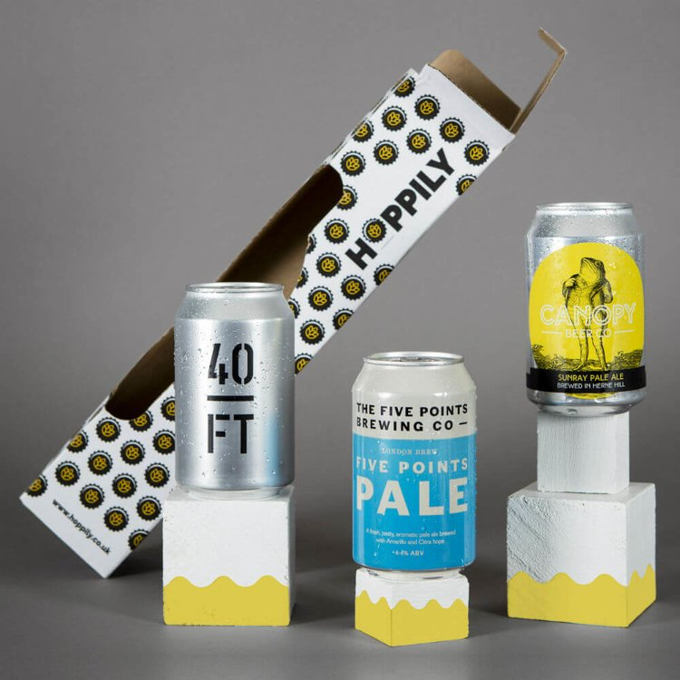 London Craft Beer Trio Can Gift Box 330ml