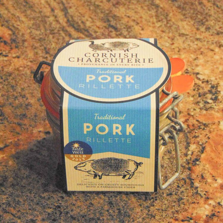 Braised & Shredded Pork Rillette 110g by Cornish Charcuterie