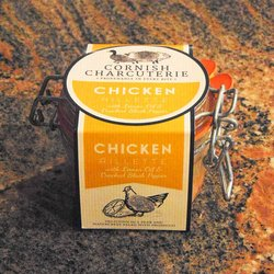 Chicken Lemon Oil & Black Pepper Rillette 110g by Cornish Charcuterie