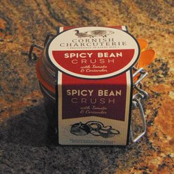 Spicy 6 Bean Crush with Chilli, Tomato & Coriander 110g by Cornish Charcuterie