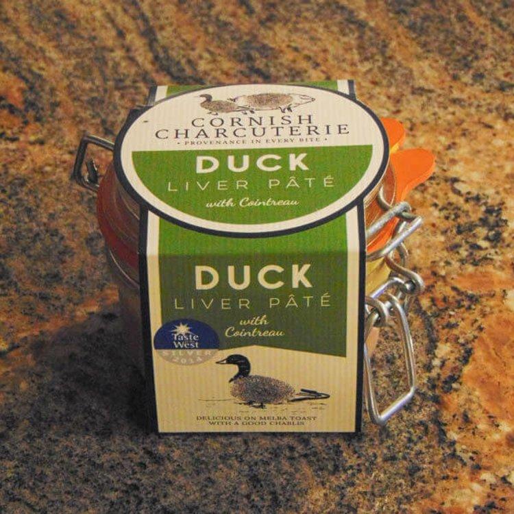 Duck Liver & Cointreau Pâté 110g by Cornish Charcuterie