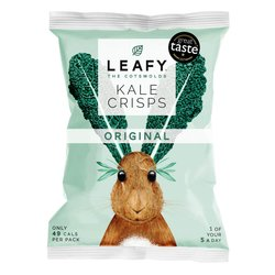 6 x Original Kale Crisps 10g by LEAFY
