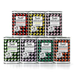 'Gran Misto' 7 Flavoured Olive Oils Set Inc. Basil, Rosemary & Garlic Oils