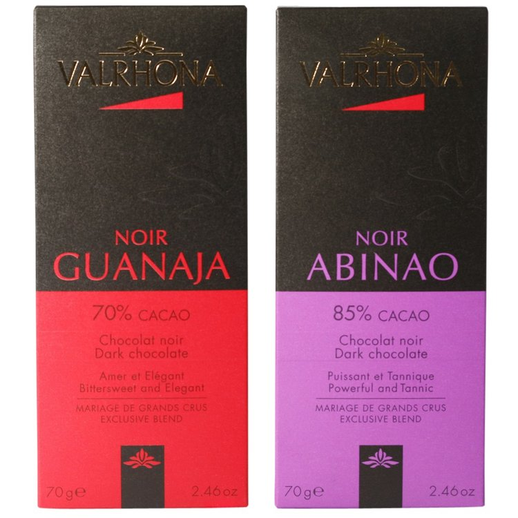 Dark Chocolate Bar Gift Set 2 X 70g