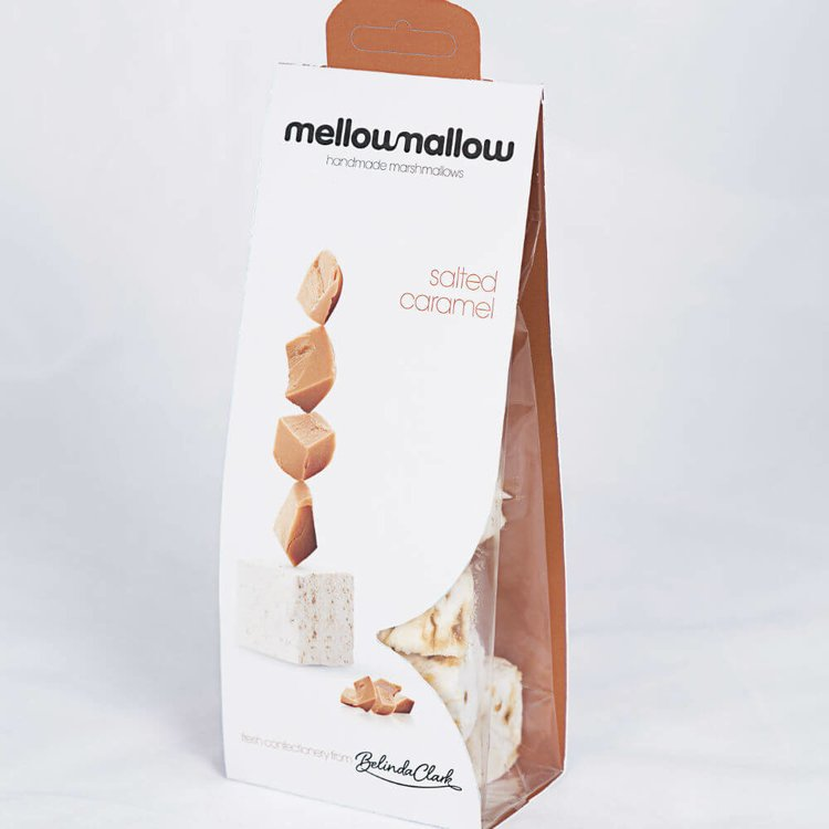 Natural Salted Caramel Marshmallows 85g (Handmade)