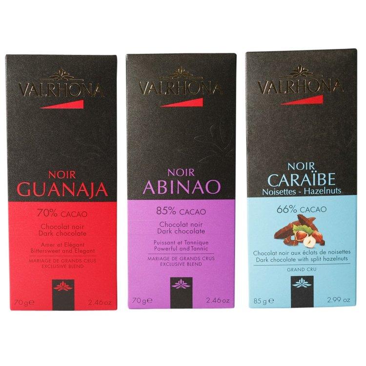 Dark Chocolate Bar Gift Set 2 x 70g & 80g
