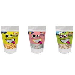Box of 12 Pouches of Popcorn & Marshmallows - Snacks Selection