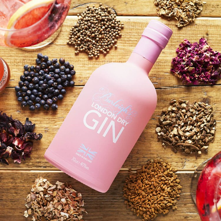 Pink Edition London Dry Gin with Japanese Cherry Blossom 70cl 40% ABV