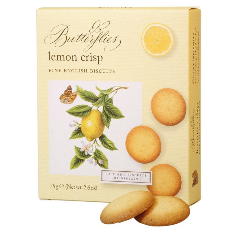 Lemon Crisp Biscuits 75g