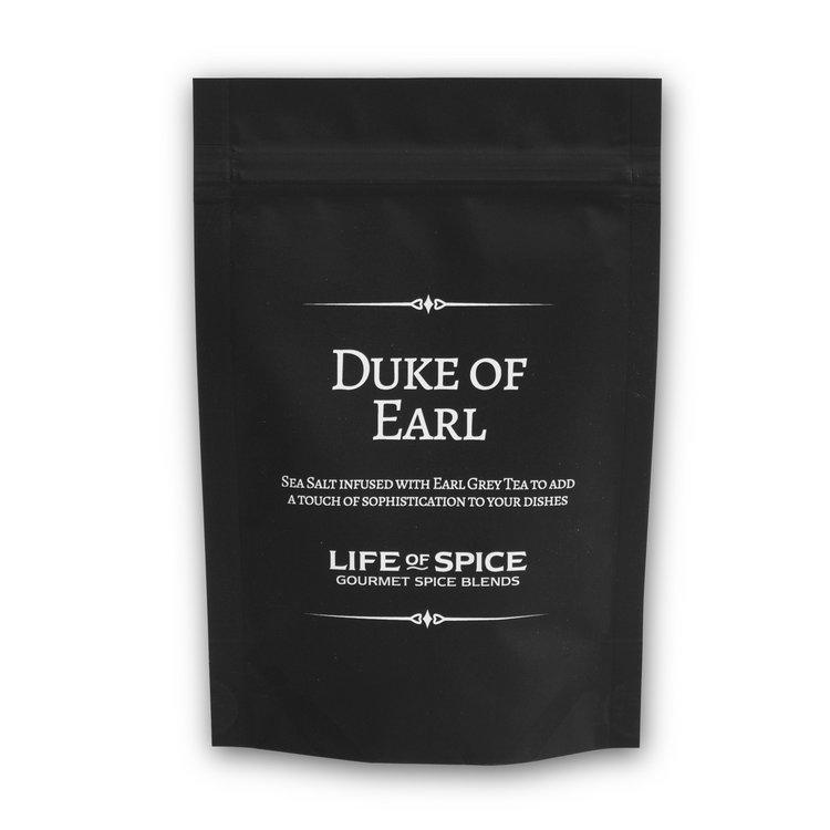 'Duke of Earl' Gourmet Earl Grey Tea Infused Sea Salt 75g