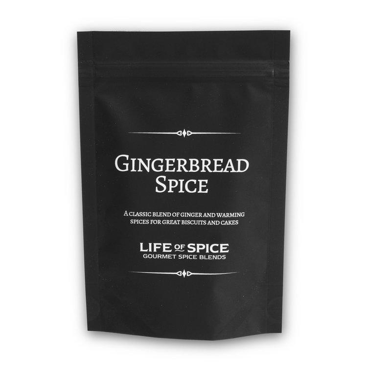 Gingerbread Gourmet Baking Spice Inc. Cinnamon, Cardamom & Allspice 30g