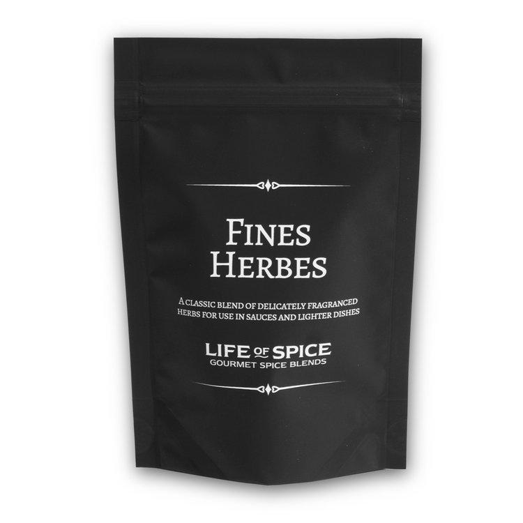 Fines Herbes Gourmet Herb Blend with Chervil, Chives, Parsley, Tarragon & Marjoram 14g