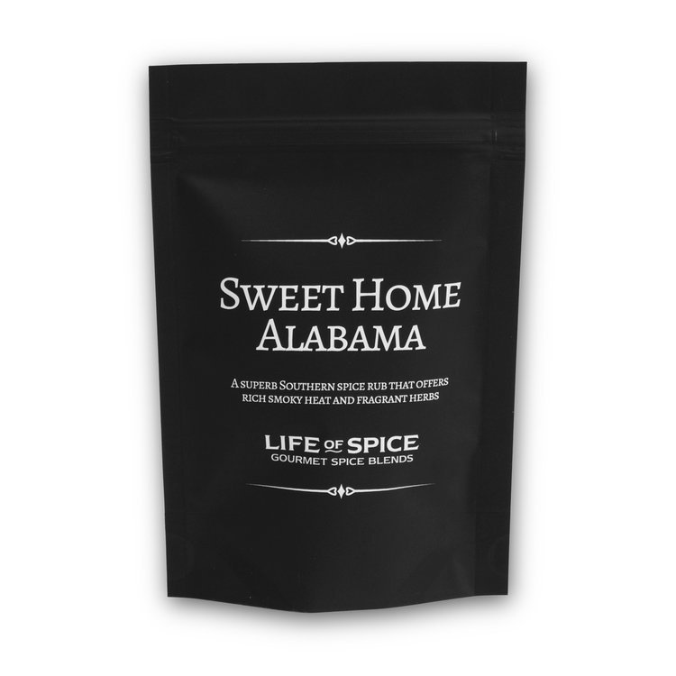 'Sweet Home Alabama' Gourmet Southern Barbecue Spice Rub with Ancho Chillies 30g