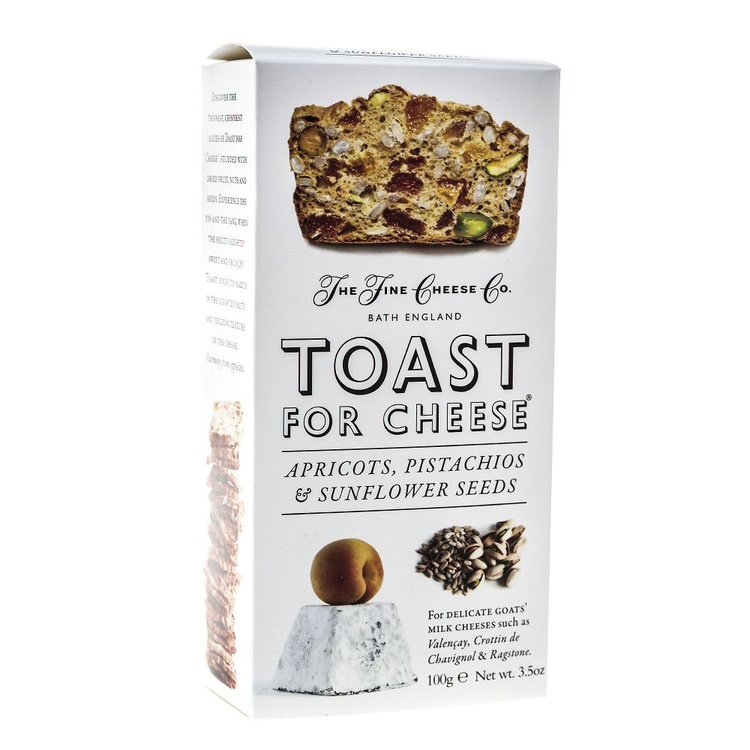 Toast For Cheese Apricot, Pistachio & Sunflower Seed 100g