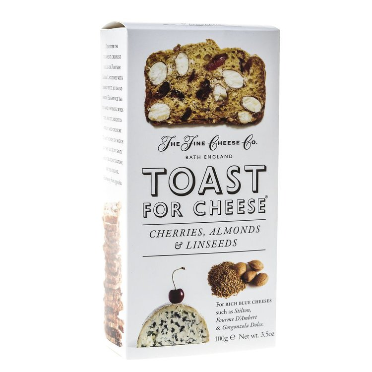 Toast For Cheese Cherry, Almond & Linseed 100g