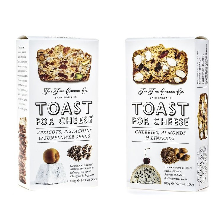 Toast For Cheese Duo Of Cherry & Apricot 2 x 100g