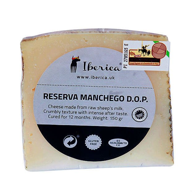 Reserva Manchego 12 Month Aged Cheese DOP 150g